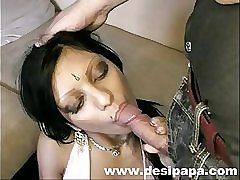 Indian babe suravinda sucking her boyfriend big cock and fucking her pussy